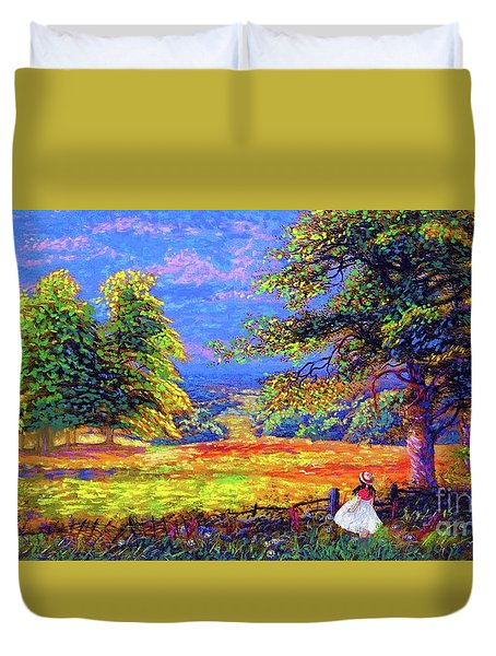 Wildflower Fields Duvet Cover