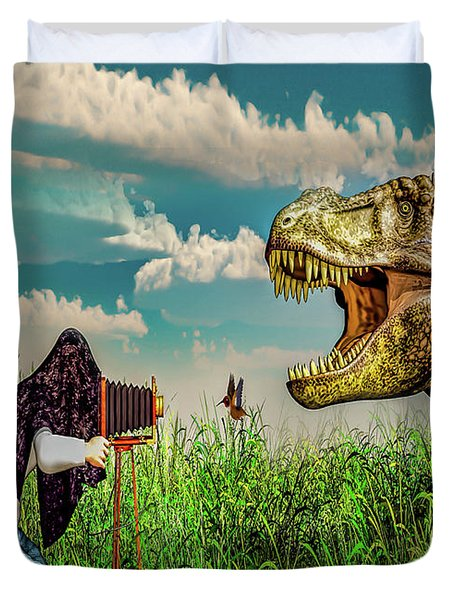 Wildlife Photographer  Duvet Cover