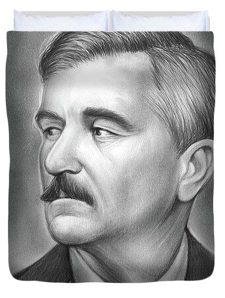 William Faulkner Duvet Cover