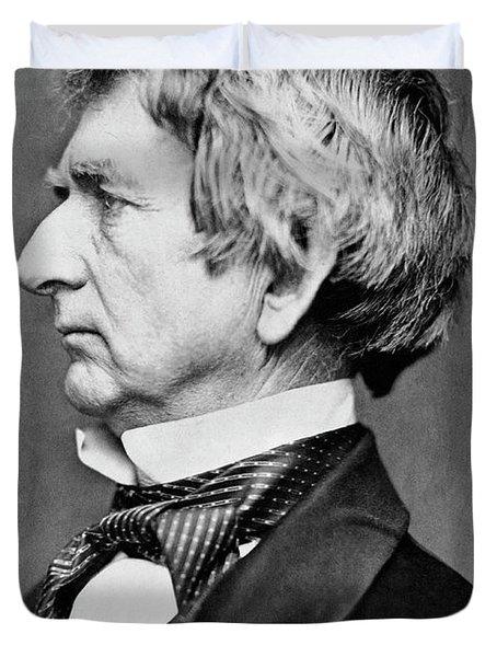 William Seward Portrait Duvet Cover