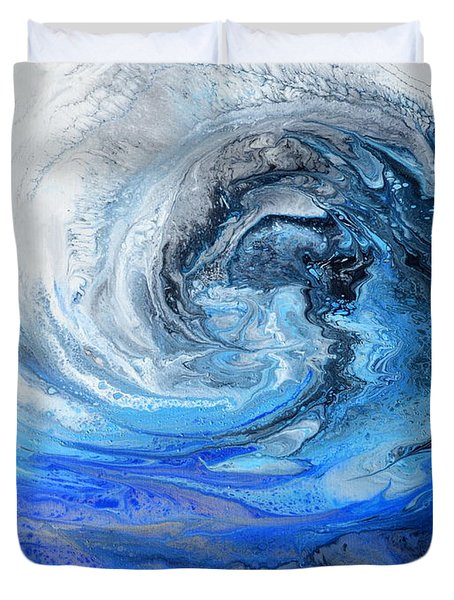 Wind And Wave Duvet Cover