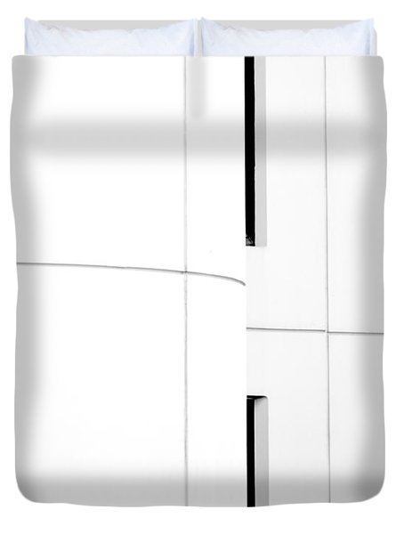 Window Abstract Duvet Cover