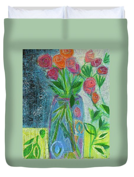 A-rose-atherapy Duvet Cover