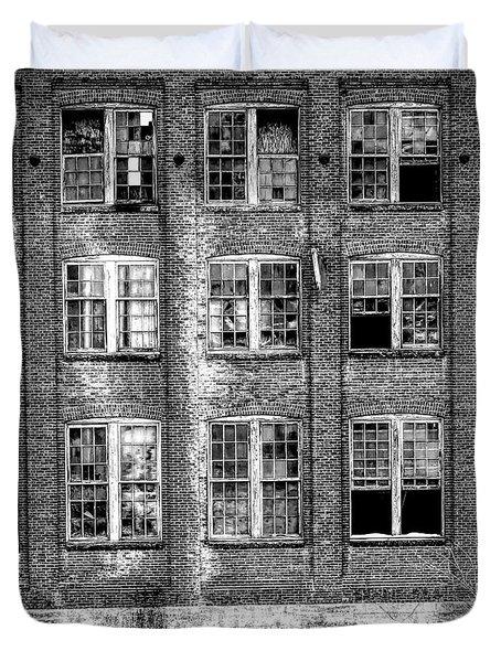 Windows Of Old Claremont Duvet Cover