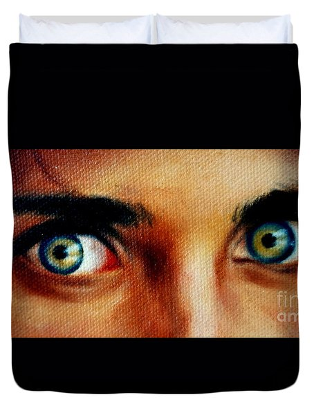 Windows To The Soul Duvet Cover