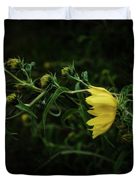 Windy Weeds Duvet Cover