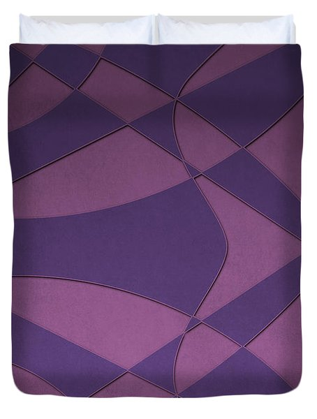 Wings And Sails - Purple And Pink Duvet Cover
