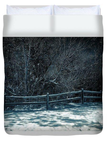 Winter Arrived Duvet Cover