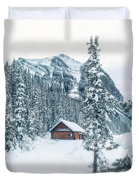 Winter Comes When You Dream Of Snow Duvet Cover