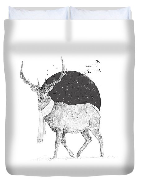 Winter Is All Around Duvet Cover