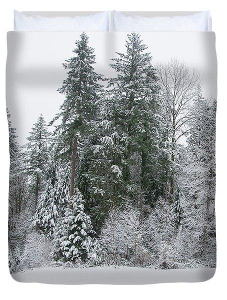 Winter Peace Duvet Cover