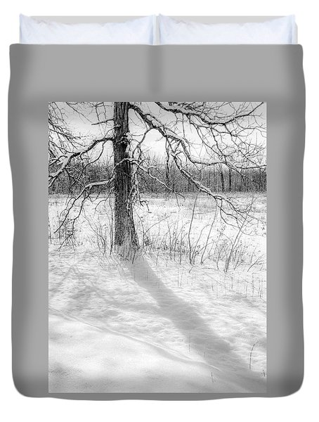 Winter Simple Duvet Cover