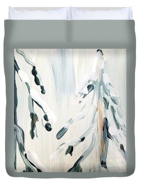 Winter Trees #3 Duvet Cover