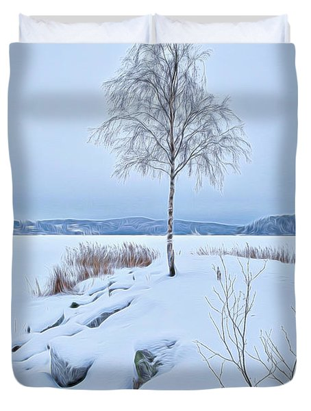 Winterland 10 Duvet Cover
