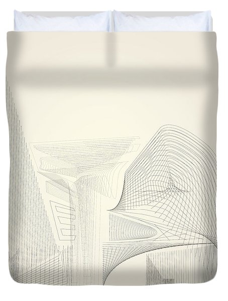 Wire Folly Complex Duvet Cover