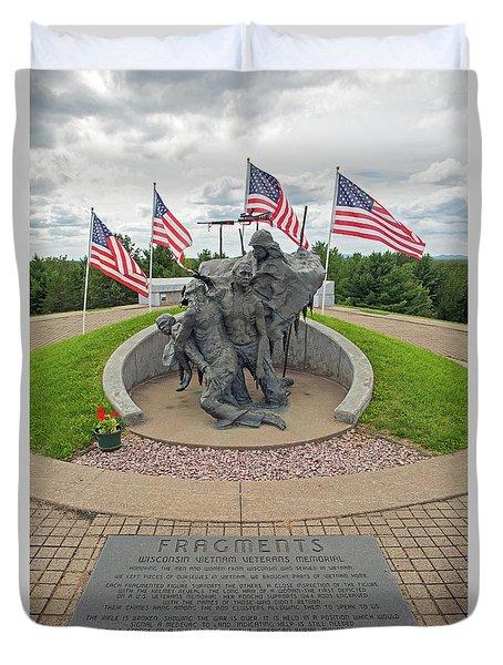Wisconsin Vietnam War Memorial Duvet Cover