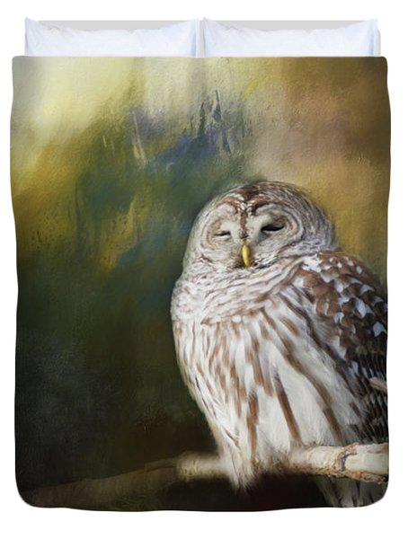 Wise Owl Duvet Cover