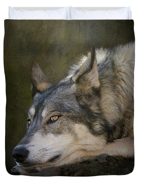 Wolf Watch Duvet Cover