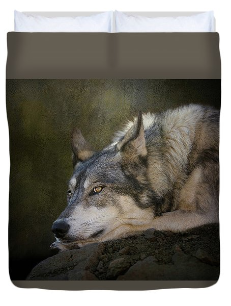 Wolf Watch Duvet Cover