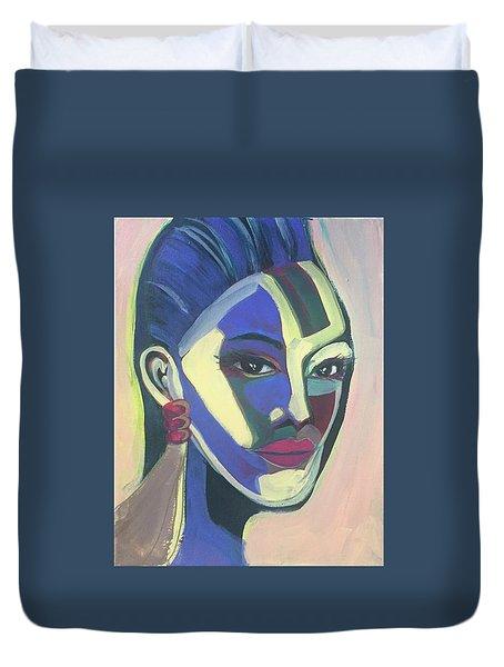Woman Of Color Duvet Cover