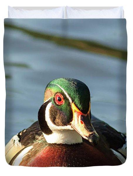 Wood Duck 3 Duvet Cover