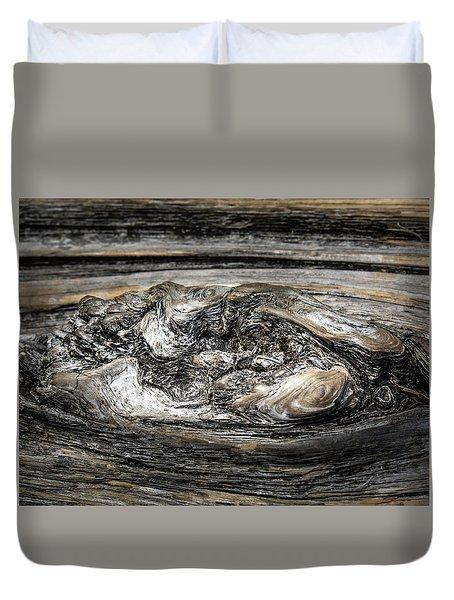 Wood Skine Duvet Cover