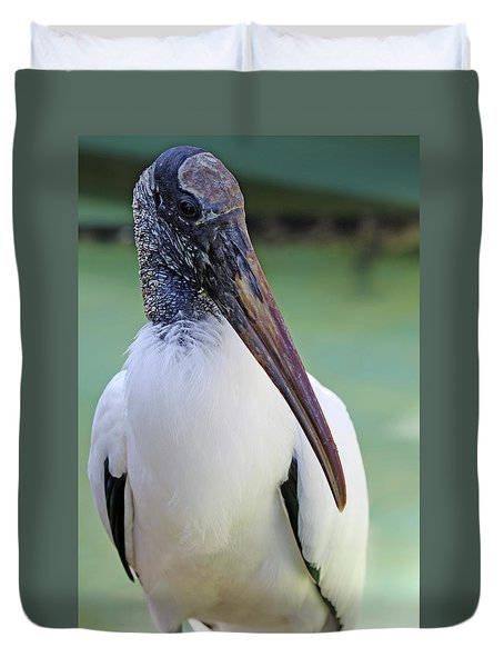 Wood Stork 40312 Duvet Cover