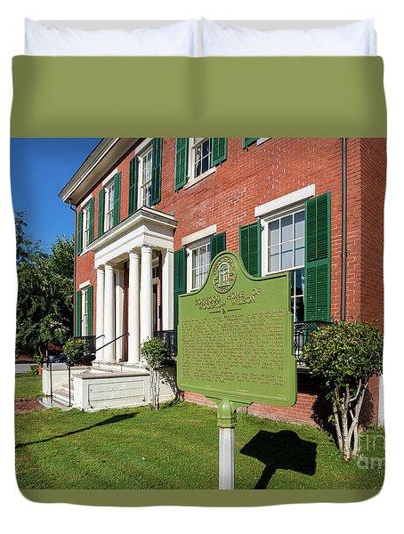 Woodrow Wilson Boyhood Home - Augusta Ga 1 Duvet Cover