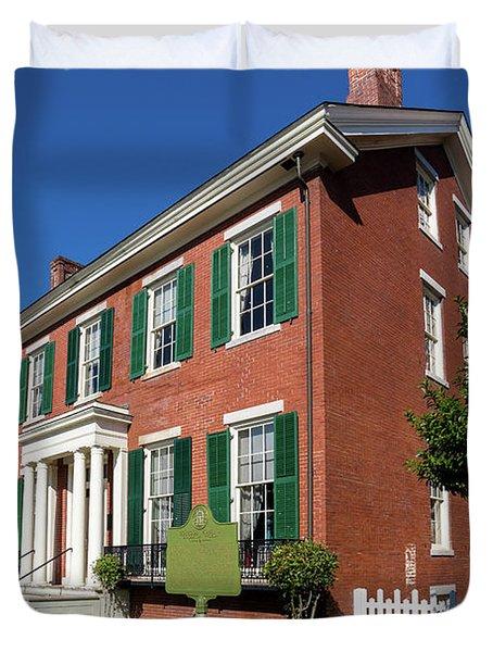 Woodrow Wilson Boyhood Home - Augusta Ga 2 Duvet Cover