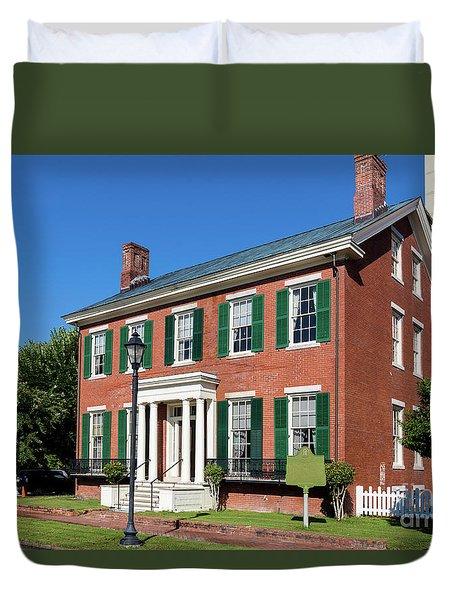 Woodrow Wilson Boyhood Home - Augusta Ga 3 Duvet Cover