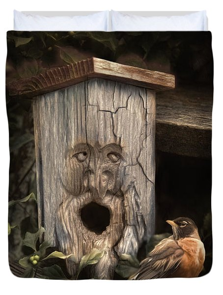Woodsprite Duvet Cover