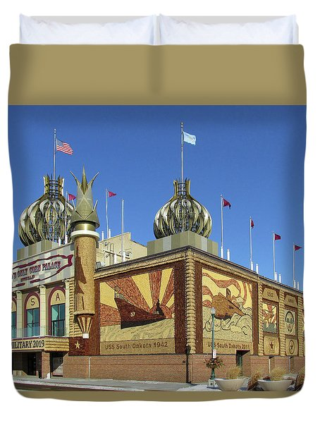 Worlds Only Corn Palace 2018-19 Duvet Cover