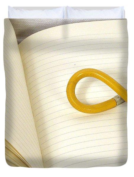 Writers Block Duvet Cover