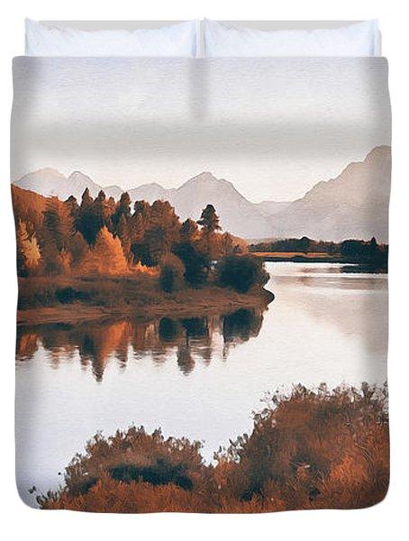 Wyoming, Grand Teton National Park - 07 Duvet Cover