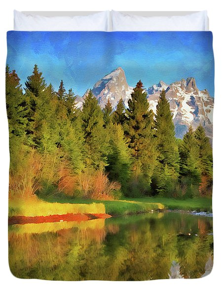 Wyoming, Grand Teton National Park - 08 Duvet Cover