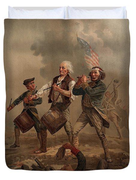 Yankee Doodle 1776 Duvet Cover
