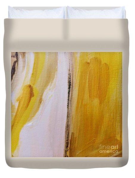 Yellow #5 Duvet Cover