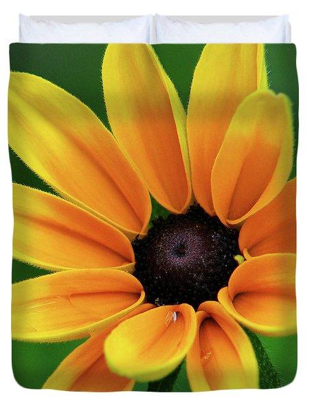 Yellow Flower Black Eyed Susan Duvet Cover