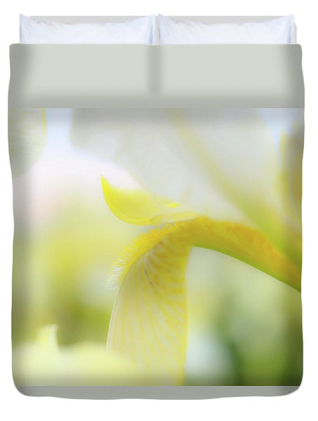 Yellow Iris 1 Duvet Cover
