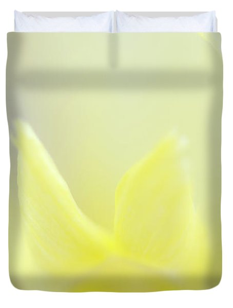 Yellow Iris 4 Duvet Cover