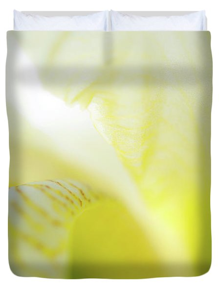 Yellow Iris 5 Duvet Cover