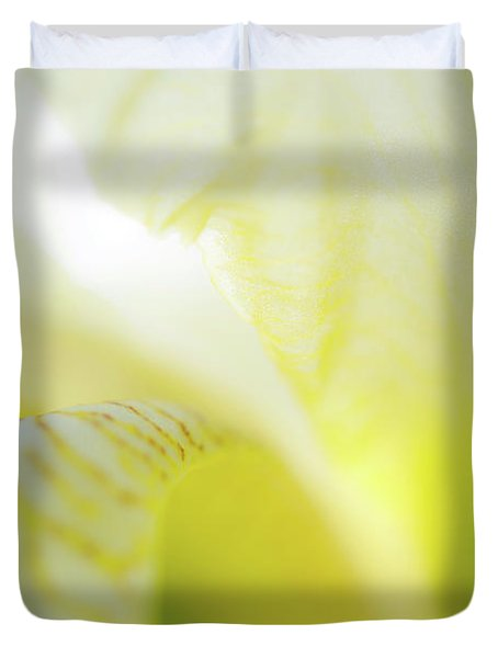 Yellow Iris 5 Duvet Cover