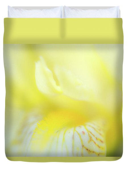 Yellow Iris 6 Duvet Cover