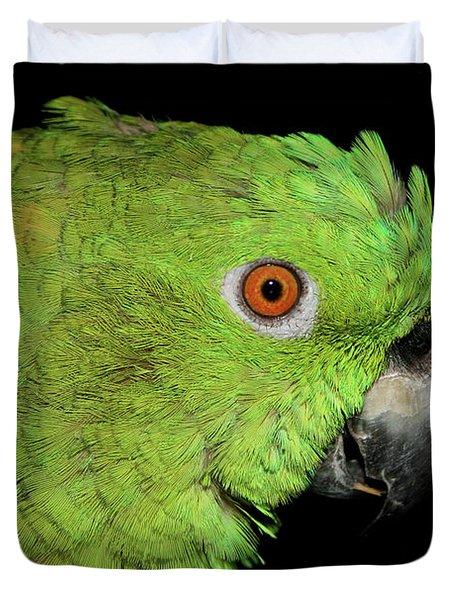 Yellow-naped Amazon Duvet Cover
