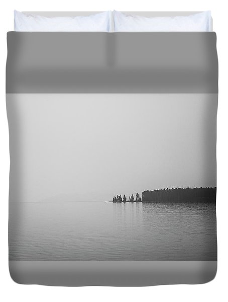 Quiet Moment Duvet Cover