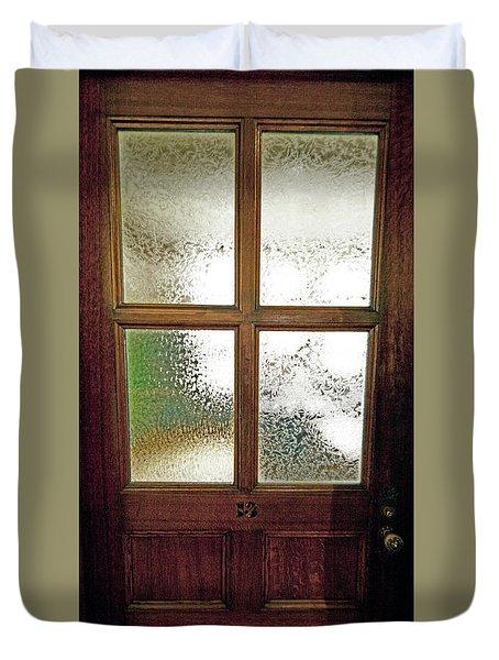 Yerkes Observatory Williams Bay Door 13 Jele3503 Duvet Cover