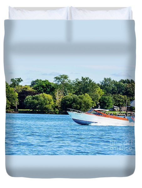 Yes Its A Chris Craft Duvet Cover