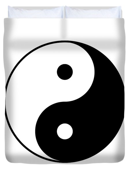 Yin And Yang Duvet Cover