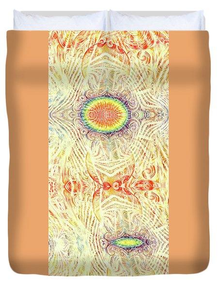 Yonic Rainbow Duvet Cover