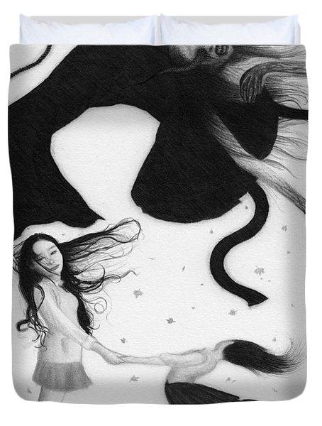 Yonokaze - Artwork Duvet Cover